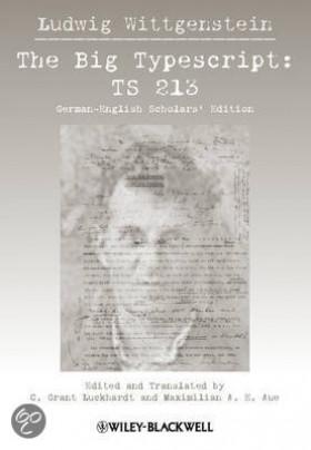 Ludwig Wittgenstein Big Typescript
